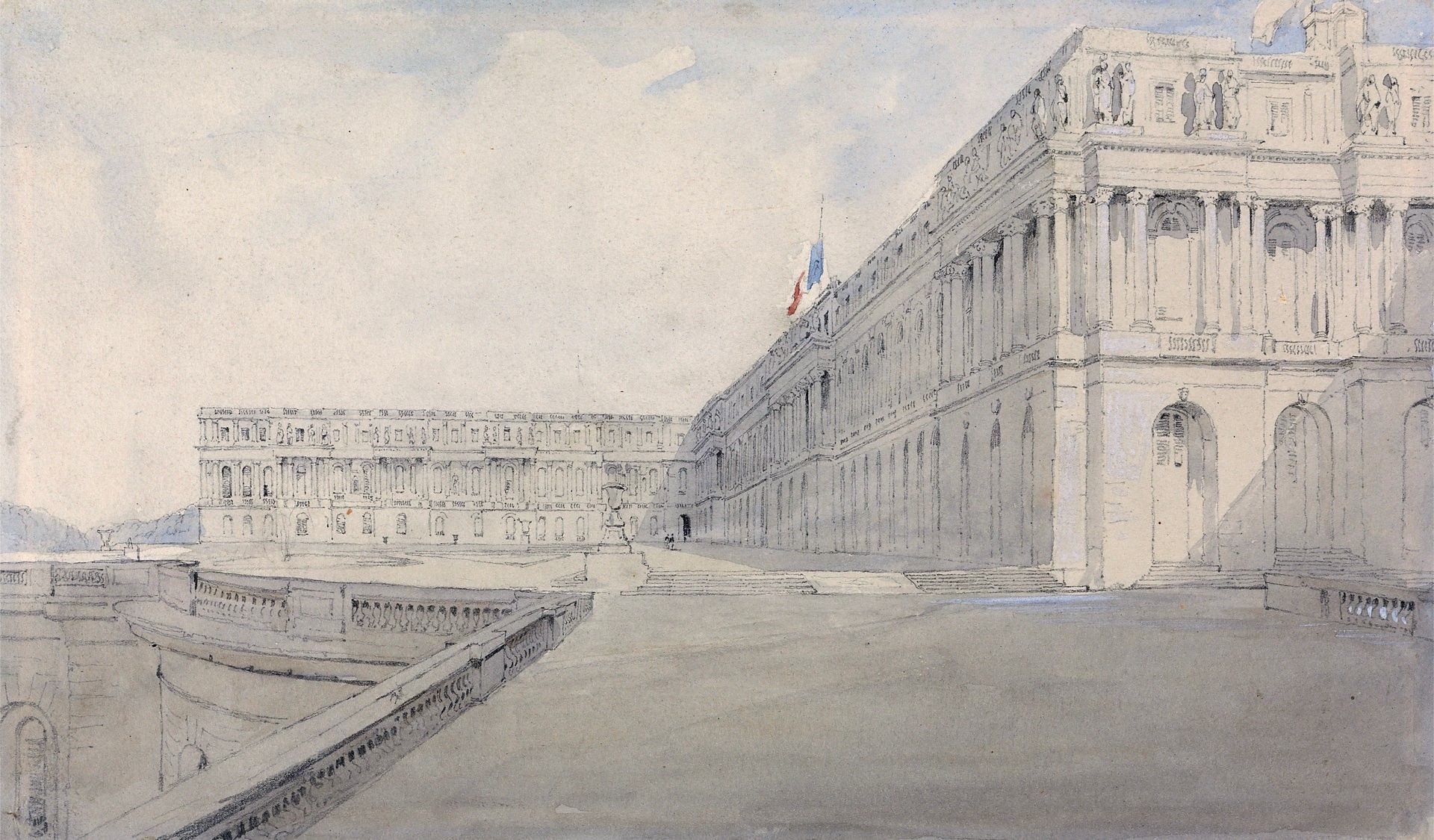 Versailles | James Holland | Oil Painting