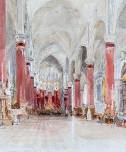 Interior of the Church of San Giovanni e Paolo