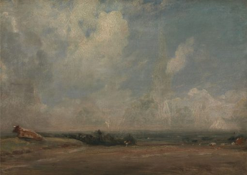 A View from Hampstead Heath ? | John Constable | Oil Painting