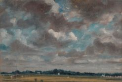 Extensive Landscape with Grey Clouds | John Constable | Oil Painting