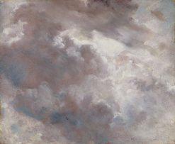 Dark Cloud Study | John Constable | Oil Painting