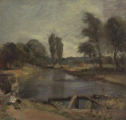 Flatford Lock | John Constable | Oil Painting