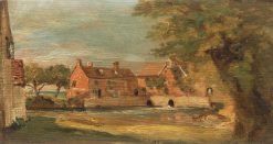 Flatford Mill | John Constable | Oil Painting