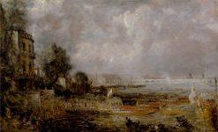 The Opening of Waterloo Bridge | John Constable | Oil Painting