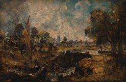 Dedham Lock | John Constable | Oil Painting