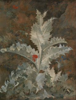 A Thistle | John Crome | Oil Painting