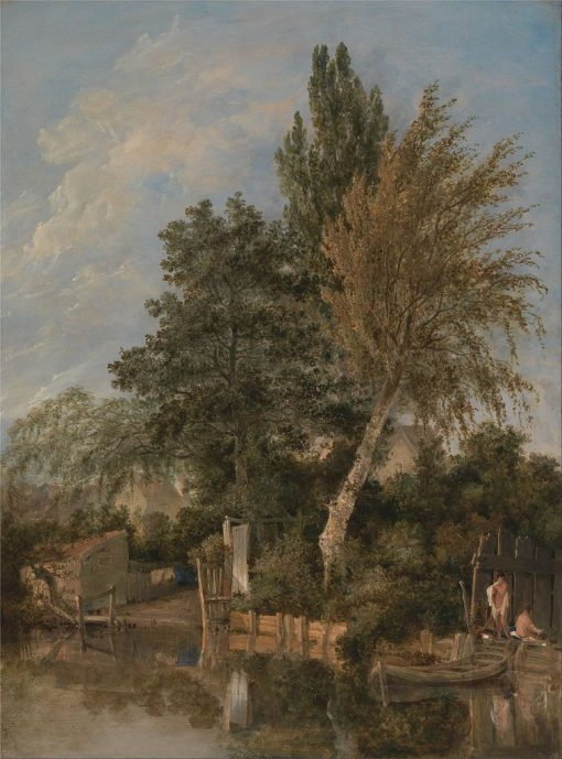 Boys Bathing on the River Wensum