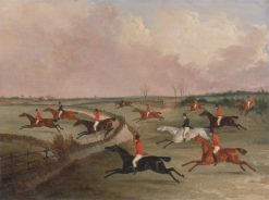 The Quorn Hunt in Full Cry | John Dalby | Oil Painting