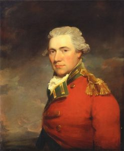 An Unknown British Official | John Hoppner | Oil Painting