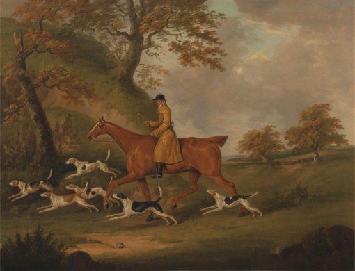 Huntsman and Hounds | John Nost Sartorius | Oil Painting