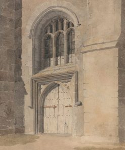 Doorway and Window of a Church | John Sell Cotman | Oil Painting
