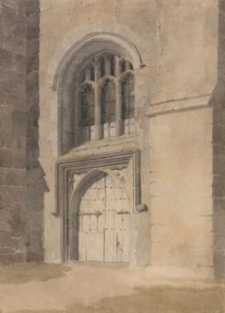 Doorway and Window of a Church   John Sell Cotman   Oil Painting