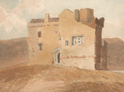 Unidentified Castle (Formerly Called Clanbury Castle) | John Sell Cotman | Oil Painting