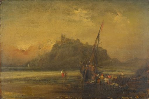 Beach Scene | John Sell Cotman | Oil Painting