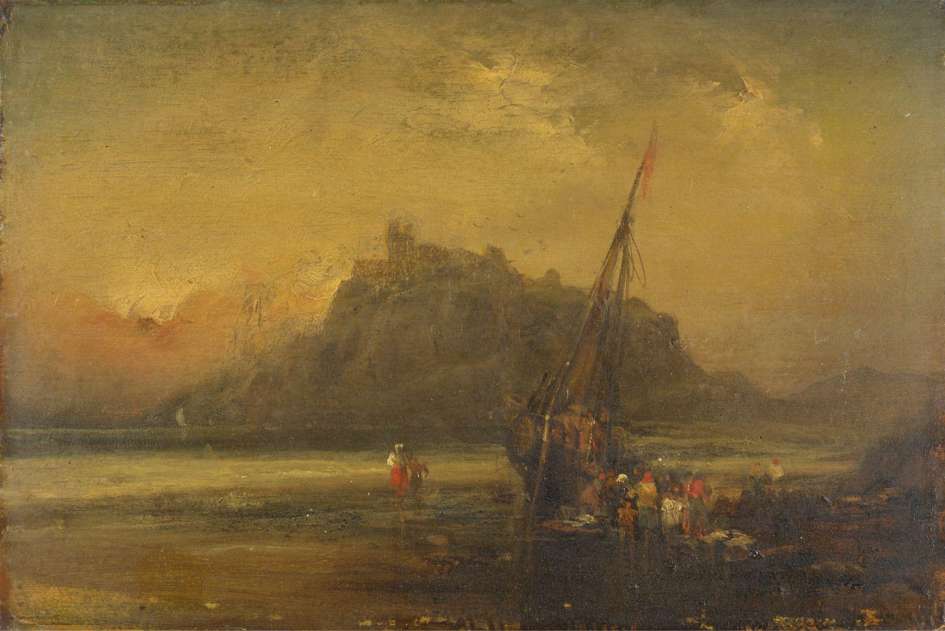 Beach Scene | John Sell Cotman | Oil Painting