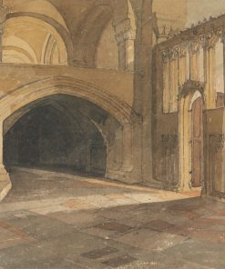 Norwich Cathedral: Entrance to Jesus Chapel | John Sell Cotman | Oil Painting