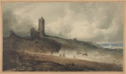 Aberystwyth Castle | John Sell Cotman | Oil Painting