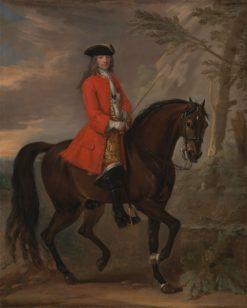 Portrait of a Man on Horseback | John Wootton | Oil Painting
