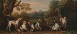 Releasing the Hounds | John Wootton | Oil Painting