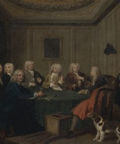 A Club of Gentlemen | Joseph Highmore | Oil Painting