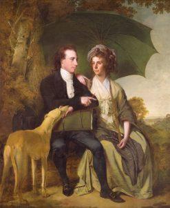The Rev. and Mrs Thomas Gisborne of Yoxhall Lodge