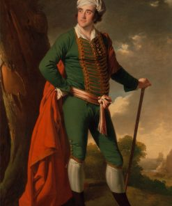 Portrait of a Man Known as the 'Indian Captain' | Joseph Wright of Derby | Oil Painting