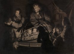 Philosopher Giving a Lecture on the Orrery | Joseph Wright of Derby | Oil Painting
