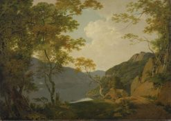 Lake Scene | Joseph Wright of Derby | Oil Painting