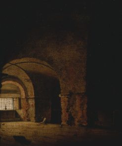 Small Prison Scene | Joseph Wright of Derby | Oil Painting