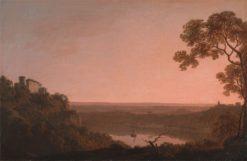 Lake Nemi | Joseph Wright of Derby | Oil Painting