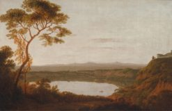 Lake Albano | Joseph Wright of Derby | Oil Painting