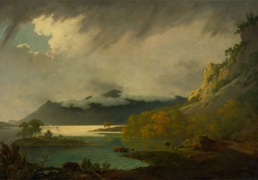 Derwentwater with Skiddaw in the Distance | Joseph Wright of Derby | Oil Painting