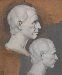 Studies of a Classical Bust | Joseph Wright of Derby | Oil Painting