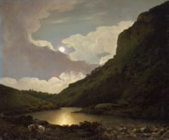 Matlock Tor at Moonlight | Joseph Wright of Derby | Oil Painting