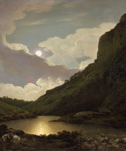 Matlock Tor at Moonlight | Joseph Wright of Derby | Oil Painting