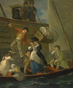 A Married Sailor's Adieu | Julius Caesar Ibbetson | Oil Painting