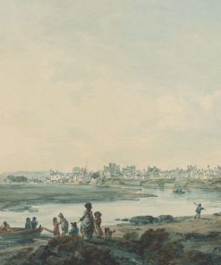Cardiff from the South | Julius Caesar Ibbetson | Oil Painting