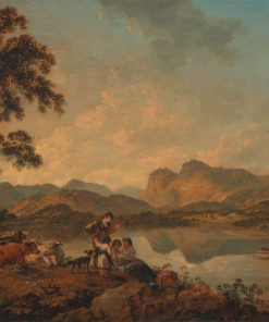 Langdale Pikes from Lowood | Julius Caesar Ibbetson | Oil Painting