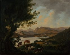 Lake Windermere | Julius Caesar Ibbetson | Oil Painting