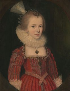 A Young Girl | Paulus van Somer I | Oil Painting
