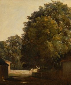 Landscape with Chestnut Tree | Peter de Wint | Oil Painting