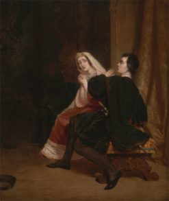 Hamlet and his Mother; The Closet Scene | Richard Dadd | Oil Painting