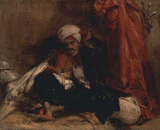 Seated Turk | Richard Parkes Bonington | Oil Painting