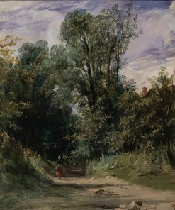 A Wooded Lane | Richard Parkes Bonington | Oil Painting