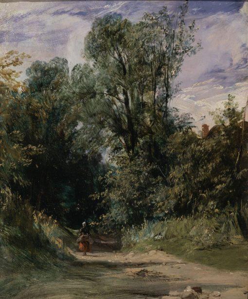 A Wooded Lane | Richard Parkes Bonington | Oil Painting