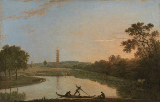 Kew Gardens: The Pagoda and Bridge | Richard Wilson