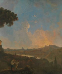 A View of the Tiber with Rome in the Distance | Richard Wilson