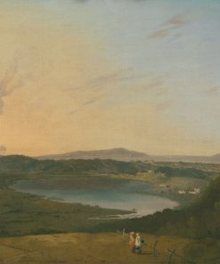 Lago d'Agnano with Vesuvius in the Distance | Richard Wilson