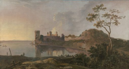 A Summer Evening (Caernarfon Castle) | Richard Wilson