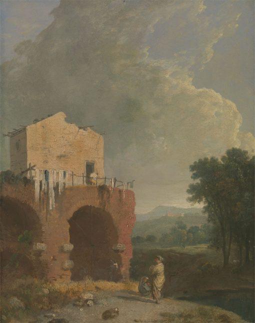 A View in Hadrian's Villa | Richard Wilson